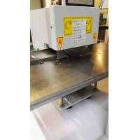 Buy cheap Pizza Wheel Motorized V-Cut LED PCB Depanel Machine with Two Round Blades from wholesalers