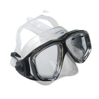 China Easy Adjustable Strap Adult Diving Mask Anti - Fog OEM / ODM Available wholesale