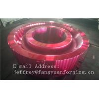 China ASTM AISI  DIN 36CrNiMo4 JIS SNCM439 Forged Gear Blank Internal Gear RIng Blanks Alloy Steel wholesale