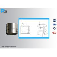 China IEC60360 Cap Temperature Rise Test Lampholders Sleeve Made by Nickel 99% wholesale