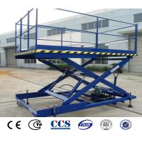 China Electric Hydraulic Car Lift Platform Warehouse Goods Scissor Lifter For Sale wholesale