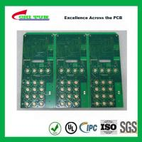 Quality Custom PCB Boards Multilayer Pcb Fabrication Aeronautics IMMERSION GOLD + HARD for sale