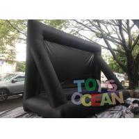 Oxford Inflatable Fast Folding Projection Screen For Outdoor Commercial Exhibition