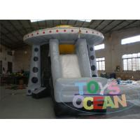 China Science Fiction Inflatable UFO Spaceship Inflatable Moonwalk Combo wholesale