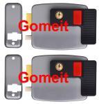 China 12VDC Low Noise Electric Rim Door Lock , Apartment Doors Automatic Door Lock wholesale