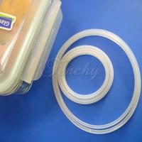China Pure Airtight Box Silicone Gasket Silicone Sealing Ring With Customized Design wholesale