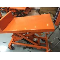 China Manual Scissor Tilting Work Table 26 Degree Tilt Angle For Repair Working Place wholesale