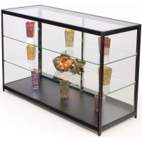 China 60 Inch Cell Phone Display Cabinet With Sliding Door Adjustable Shelves wholesale