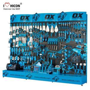 China Custom Accessories Display Stand Metal H-Shape Powder Tool Display Racks Freestanding wholesale
