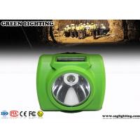 China Anti - Explosion Led Mining Lamp , 13000 Lux Hard Hat Lights With USB Charger wholesale