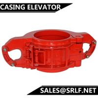 China SLX 90 degree shoulder Tubing Casing Drill Collar Double Lock Side Door Elevator on sale