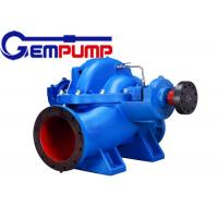 High pressure Double suction split casing pump diesel  electric driven
