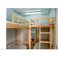 Three Layers Prefabricated Accommodation Comfortable And Safety With Bunk Beds