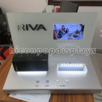 China Mini Speaker Counter Display Units With Point Of Sale LCD Screen wholesale