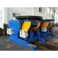 Buy cheap 3T CE Pipe Welding Positioners , Stepless Frequency Conversion Welding Rotators Positioners from wholesalers