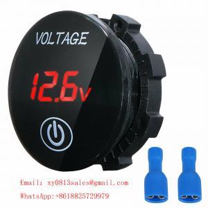 China 48V Voltmeter for Motorcycle Car green color wholesale