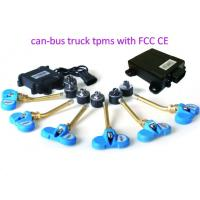 China CAN Bus Module TPMS for Motorsport Team and Race Vehicles, truck integrated TPMS with CAN-BUS protocol on sale
