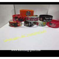 China silicone material  Main Stone and Bangles,Bracelets Jewelry Type silicone wristband wholesale