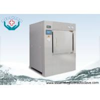 China Bulk Double Door Laboratory Steam Sterilizer Autoclave 304 Stainless Steel Chamber and Jacket on sale