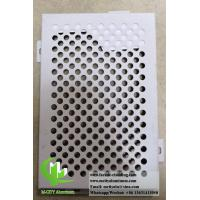 Quality Perforated Metal Cladding Panels PVDF Coating Aluminum Curtain Wall ISO9000 for sale