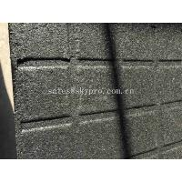 China High Density EPDM Rubber Paver Mat / Rubber Gym Flooring For Cross Fit Fitness Center wholesale