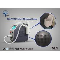 China Best Effective Laser Tattoo Removal Equipment Q Switch Nd Yag Laser With Spot Size Adjustable on sale