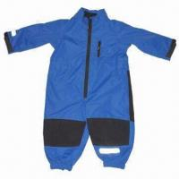 China Children's/baby overall, made of polyester fabric, waterproof and breathability wholesale