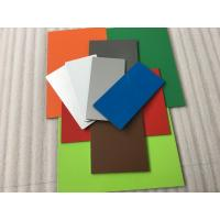 China Pearl Red PVDF Paint Aluminium Composite Sheet With Weather Resistance wholesale