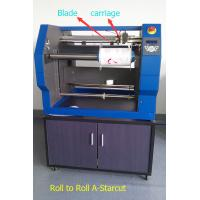 China Roll to Roll Label Digital Cutter Using Blade to Cut Labels from Paper Sticker wholesale