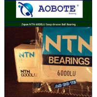China Japan NTN Ball Bearings 6000LU Deep Groove With LU Seal Type ABEC-5 wholesale