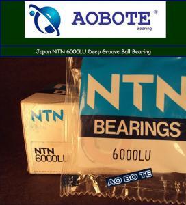 China Japan NTN Ball Bearings 6000LU Deep Groove With LU Seal Type ABEC-5 wholesale