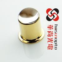 China D3xH4.8 D4.8xH6.7 D4.65xH6.1  gold (electro) plating, Electroplating nickel, class to metal sealing, ball lens caps wholesale