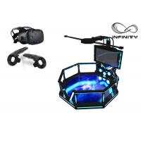 China 56 Inch Screen Virtual Reality Equipment , Steel Material 9D VR Game Machine wholesale