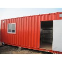 China 20 Feet Single Container Home With Electrical System And Steel Shelf wholesale