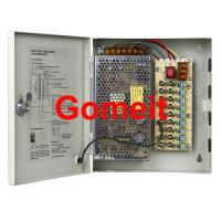 China 9 Channel Camera Power Supply 12vdc , High Efficiency CCTV Camera Dc Power Supply wholesale