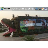 Quality Fantastic Mobile 7D Movie Theater Dinosaur Cinema For Theme Park for sale