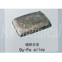 China Dysprosium Ferroalloy Rare Earth Alloys For NdFeB Permanent Magnet Material on sale