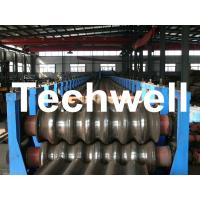 China Galvanized Plate / Steel Corrugated Sheet Roll Forming Machine for For Wall Panel wholesale