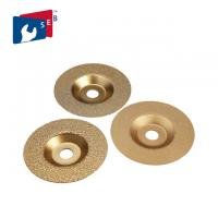 China Fiber Glass And Marble Diamond Cup Wheel Grinding Disc 100 - 180 Mm Size wholesale