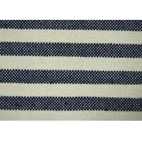 China Anti - Static harmless black and white striped fabric Tear - Resistant wholesale