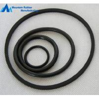 China OEM No Flash Black Acid and Alkali Resistant Viton / FPM / FKM Rubber O Rings on sale