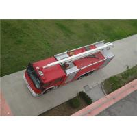 China Max Power 320KW Water Tower Fire Truck 20m Working Height With Mechanical Seal wholesale