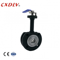 China Wafer Type Extend Stem WCB Ball Valve With Reduced Bore wholesale