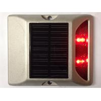 China 2 LEDs Solar LED Road Stud 800M Visual Distance 5000mcd-8000mcd Luminous intensity wholesale