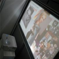 Wholesale High Contrast 3D Holographic Display Gray Rear Projection Film For Window Advertising from china suppliers