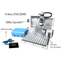 Buy cheap Professional CNC3040 3D CNC Router , CNC Engraving Drilling And Milling Machine from wholesalers