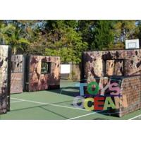 China Amazing Inflatable Paintball Airball Bunkers / Air Bunkers For X -Sport Shooting wholesale
