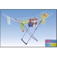 China 22 m Iron Folding Clothes Rack Dryer with 30pcs Clips, 1 Basket NG-100B wholesale