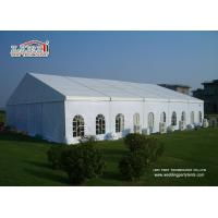 China Cheap Fire Resistant Clear Span High Peak Large Second hand Marquee For Sale wholesale