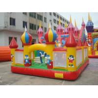 China Inflatable fun city / inflatable playground  / castle jumping playground fun city wholesale